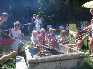 2008: Sommercamp Würstl-Braten