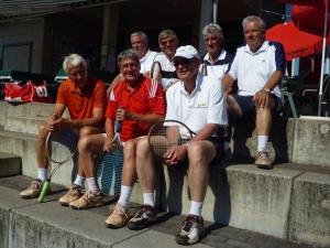 2011: Herren 65 in höchster deutschen Spielklasse