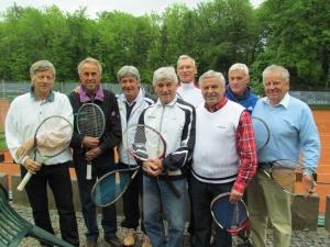 2012: Herren 65 in höchster deutscher Spielklasse