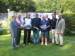 2012: Siegerehrung Deutsche Meisterschaft H 65