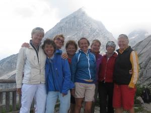 2013 Damen 40 Ausflug zum Watzmannhaus