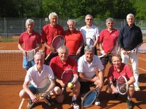2014-Herren 65 sind bayerischer Vizemeister!