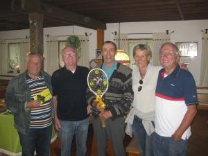 2015 - Platzmeister Harry Weiß wird geehrt u. verabschiedet
