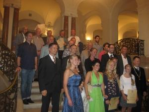 2015 - Sportler-Ehrung der Stadt für RTC-Herren 65