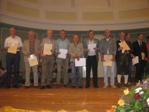 2015 - Sportler-Ehrung der Stadt für RTC-Herren65