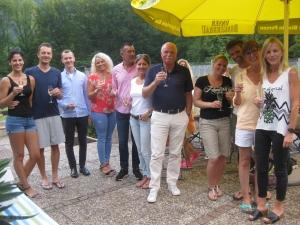 2017 - Sonnwendfeier Ehrung Neumitglieder