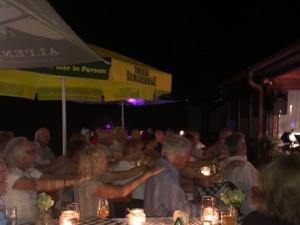 2018 - Jubiläumsfeier: bis in die Nacht