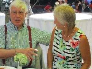 2018 - Jubiläumsfeier: Ehrenpräsident Dr. Manfred Brosche